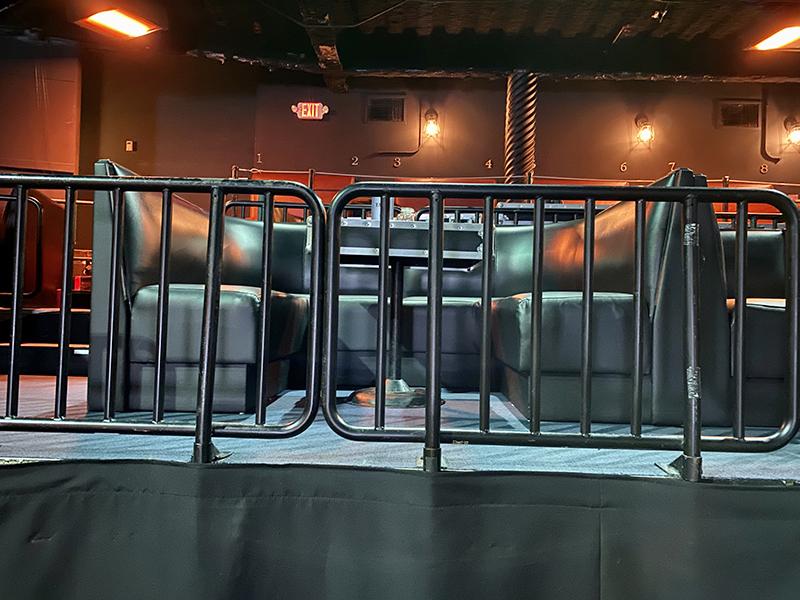 nightclub seating